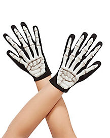 Skeleton Child Gloves