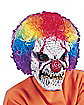 Scary Clown Mask With Wig