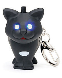 LED Cat Keychain