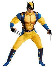 Marvel Comics X-Men Wolverine Adult Costume