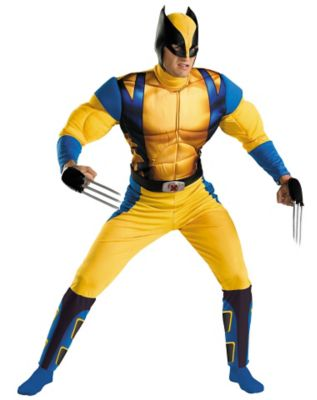 man wearing a wolverine cosplay outfit