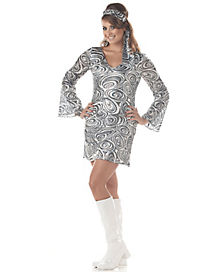 Adult Disco Diva Plus Size Costume