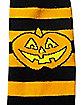 Striped Pumpkin Socks