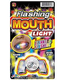 LED Flashing Mouth Light