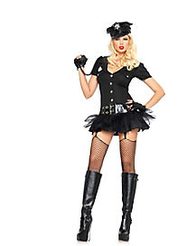 Adult Bombshell Officer Costume