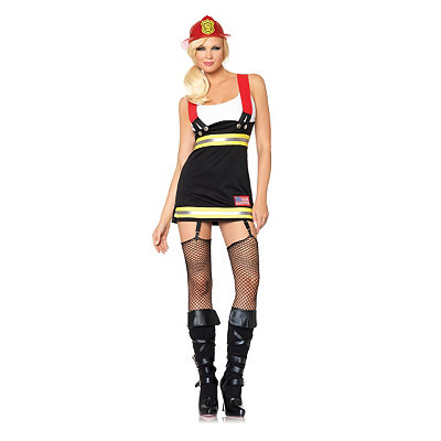 Backdraft Babe Adult Womens Costume