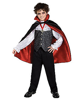 Kids Red Vampire Costume