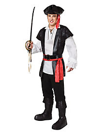 Cool Pirate Adult Mens Costume