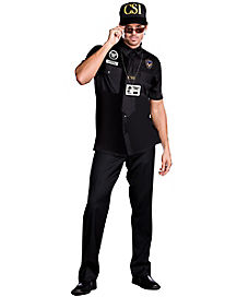 Adult CSI Dick Perfecto Costume