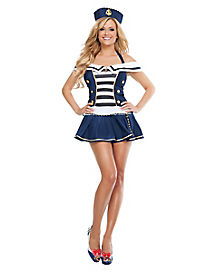 Maiden Voyage Sailor Adult Womens Costume