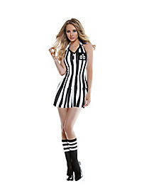 Adult Hot Shot Caller Referee Costume