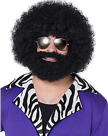 Afro Facial Hair and Wig