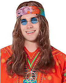 Hippie Adult Wig