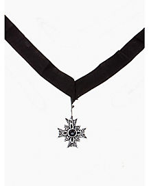 Vampire Cross Necklace
