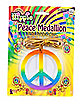Hippie Rainbow Peace Medallion
