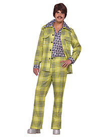 Adult Leisure Suit 70s Costume