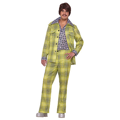 70s Leisure Suit Adult Mens Costume