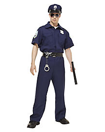 Police Officer Adult Mens Costume