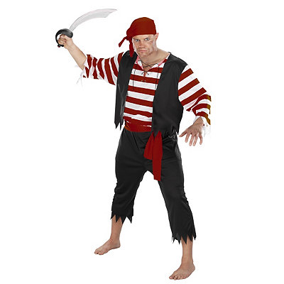 Seven Seas Mate Adult Mens Pirate Costume