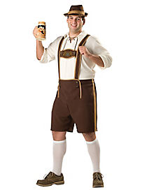 Adult Bavarian Guy Plus Size Costume