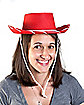 Kids Red and White Cowboy Hat