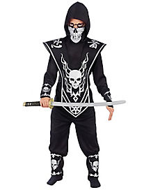 Kids Skull Lord Ninja Costume