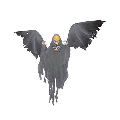 Animated Flying Reaper Decoration