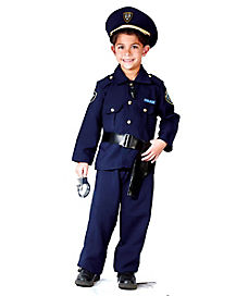 Police Man Toddler Costume