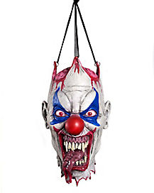 Hanging Clown Head Decoration