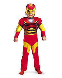 Toddler Muscle Iron Man Costume - Marvel Comics
