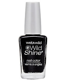 Wild Shine Black Nail Polish