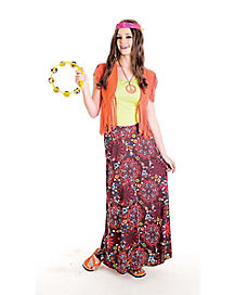 Summer of Love Adult Womens Costume