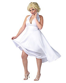 Adult Marilyn Monroe Plus Size Costume - Marilyn Monroe
