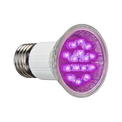 Black LED Spot Light Bulb
