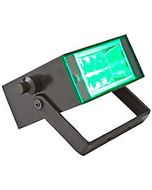 Flameless Green LED Strobe Light