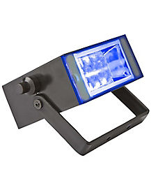Flameless Blue LED Strobe Light