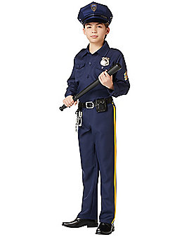 Kids Police Man Costume