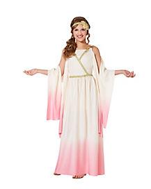 Kids Pink Athena Costume