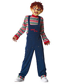 Kids Chucky One Piece Costume - Chucky