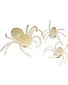 Set of 3 Glow Spiders
