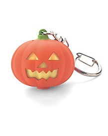 Pumpkin LED Keychain