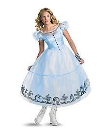 Adult Alice in Wonderland Deluxe Costume - Tim Burton's Alice in Wonderland