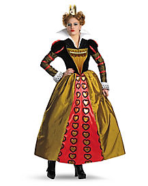 Tim Burton's Alice in Wonderland Red Queen Adult Womens Costume