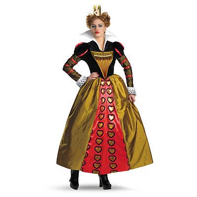 Tim Burton's Alice in Wonderland Red Queen Adult Womens Costume