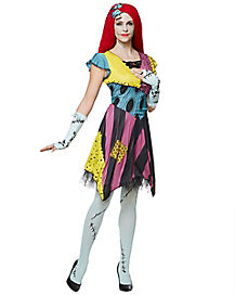 Adult Sassy Sally Costume - Nightmare Before Christmas
