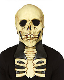 Skeleton Mask with Neck