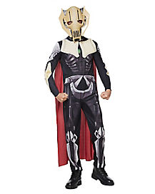 Kids General Grievous Costume - Star Wars Clone Wars