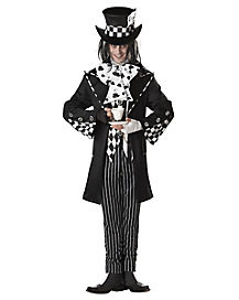 Dark Mad Hatter Adult Men's Costume