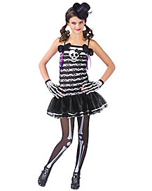Kids Sweetie Skeleton Costume