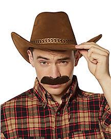 Cowboy Brown Mustache